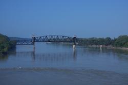 katy trail missouri booneville missouri river bridge
