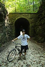 katy trail missouri rocheport tunnel
